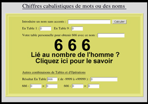 chiffre double signification